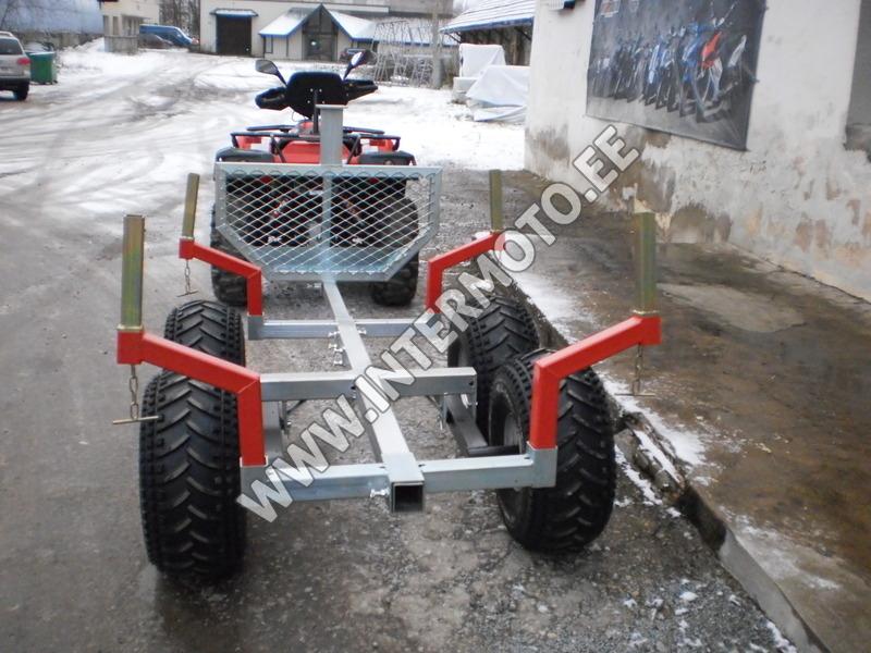 ea936de46d0 ATV Linhai-Yamaha 400 4x4 Winch 3000lbs+Hook+Log Barrow